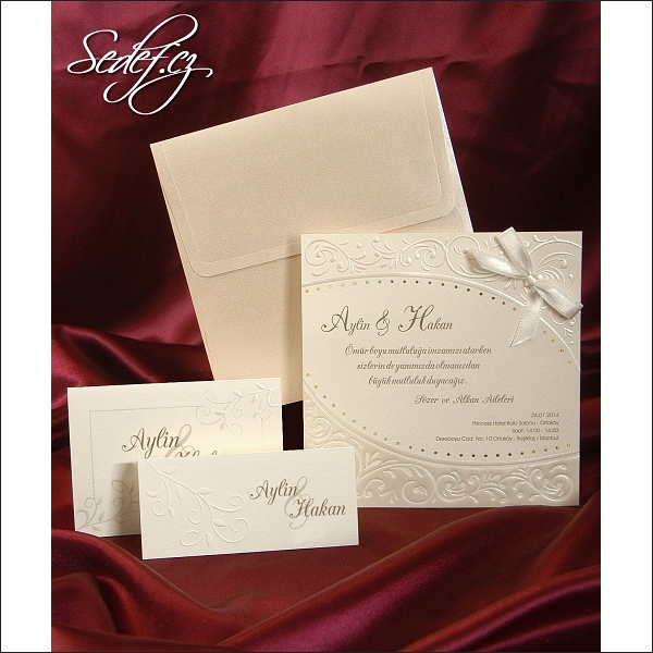 Svatební oznámení 3584 svatební oznámení vzory předchozí